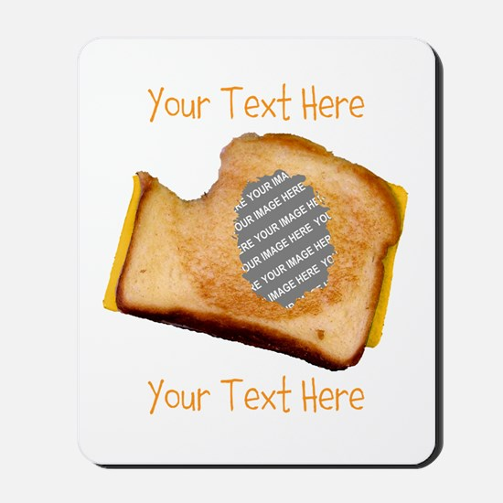 YOUR FACE Grilled Cheese Sandwich Mousepad