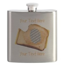 YOUR FACE Grilled Cheese Sandwich Flask