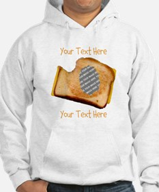 YOUR FACE Grilled Cheese Sandwic Hoodie