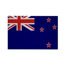 """New Zealand Flag"" Rectangle Magnet"