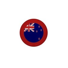 """New Zealand Flag"" Mini Button"
