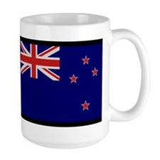 """""""New Zealand Flag"""" Mug"""