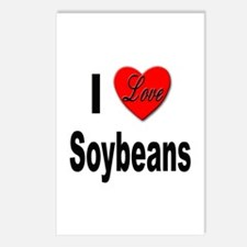 I Love Soybeans Postcards (Package of 8)