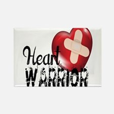 heart warrior Magnets