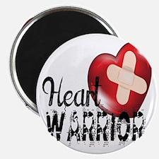 heart warrior Magnets