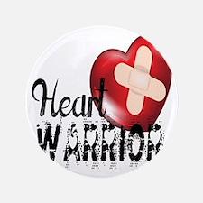 """heart warrior 3.5"""" Button (100 pack)"""