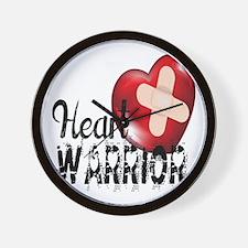 heart warrior Wall Clock