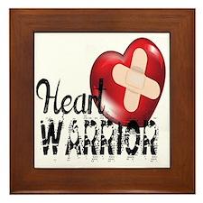 heart warrior Framed Tile