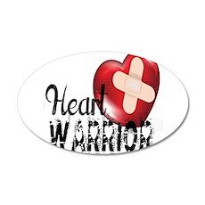 heart warrior Wall Decal