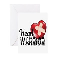 heart warrior Greeting Cards
