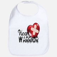 heart warrior Bib