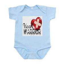 heart warrior Body Suit