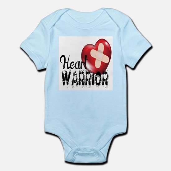 heart warrior Body Suit