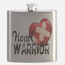 heart warrior Flask