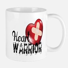 heart warrior Mugs