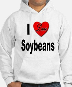 I Love Soybeans (Front) Hoodie