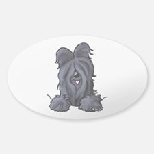 Pocket Black Briard Decal