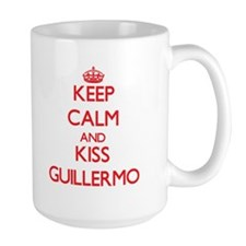 Keep Calm and Kiss Guillermo Mugs