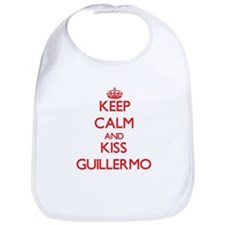 Keep Calm and Kiss Guillermo Bib