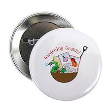 "Gardening Granny 2.25"" Button"