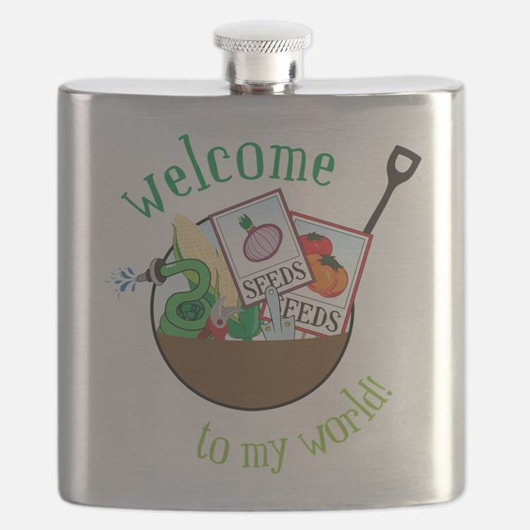 Welcome To My World Flask