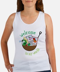 Welcome To My World Tank Top