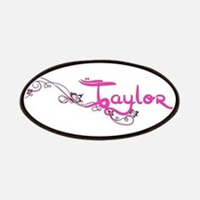 Taylor Flower Name Plate Patches