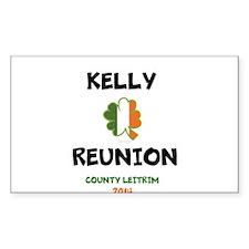 Kelly Reunion tshirt 3 Decal