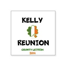 Kelly Reunion tshirt 3 Sticker