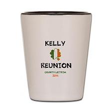 Kelly Reunion tshirt 3 Shot Glass
