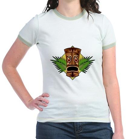 Retro Tiki Jr. Ringer T-Shirt