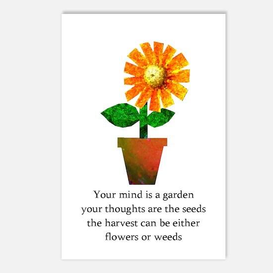Spiritual Gardening Postcards (Package of 8)