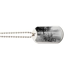 Cute Motorcycle Dog Tags