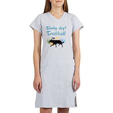 Pushy Dog Treibball Women's Nightshirt