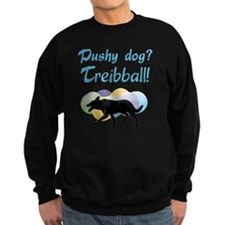 Pushy Dog Treibball Sweatshirt