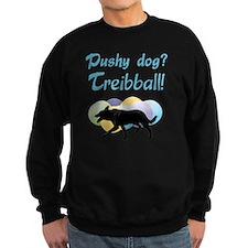 Pushy Dog Treibball Sweatshirt