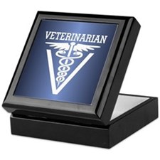 Caduceus VET (Veterinarian) Keepsake Box