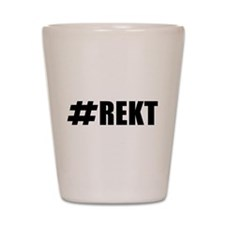 REKT Shot Glass