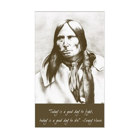 Crazy Horse Sticker
