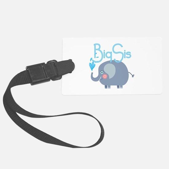 Elephant Big Sis Luggage Tag