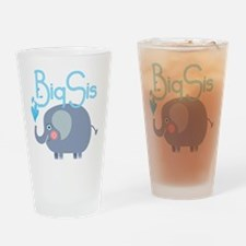 Elephant Big Sis Drinking Glass