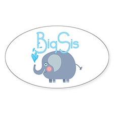 Elephant Big Sis Decal