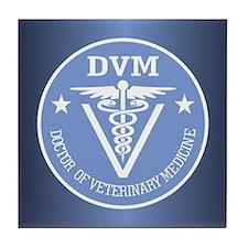 Caduceus DVM (Doctor of Veterinary Science) Tile C