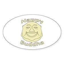 Happy Buddha Decal