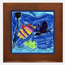 Fish Art by Steven 2007- Framed Tile