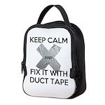 duct tape Neoprene Lunch Bag