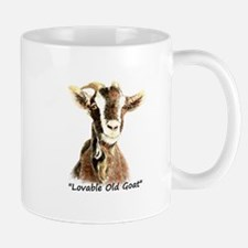 Lovable Old Goat Fun Quote for Him Mugs