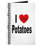 I Love Potatoes Journal