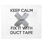 duct tape King Duvet
