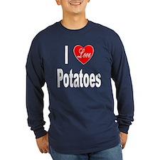 I Love Potatoes (Front) T